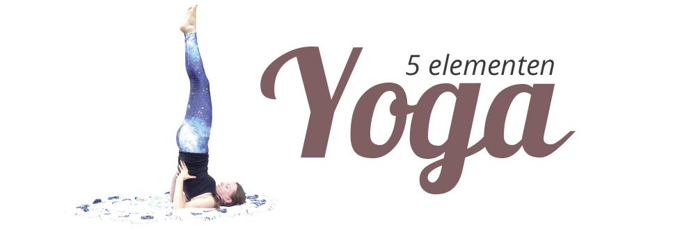 5 Elementen Yoga - op maandagvoormiddag vanaf maart