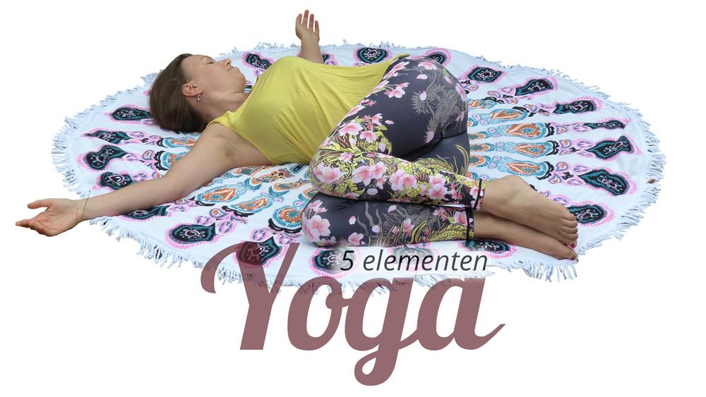 5 Elementen Yoga - op maandagvoormiddag